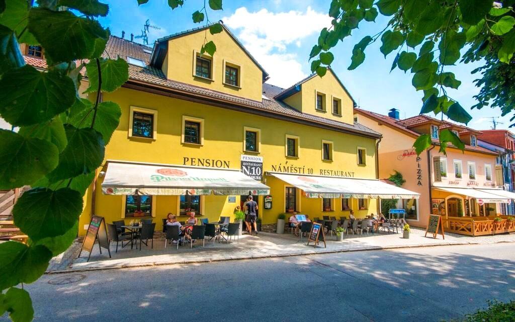 Penzion N.10 Frymburk ***, Lipno, Šumava