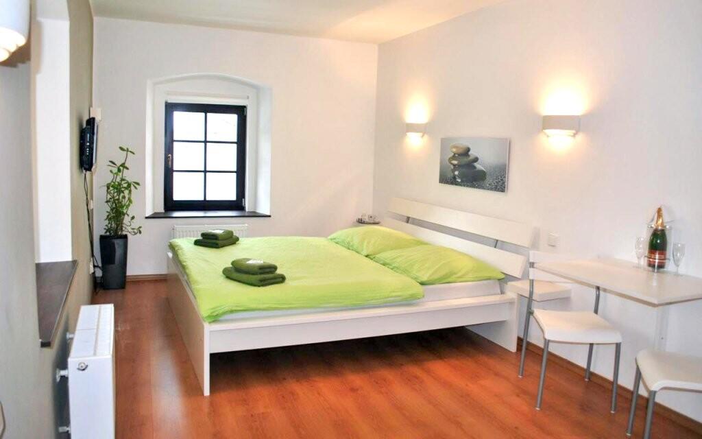 Dvoulůžkový pokoj, Penzionu N.10 Frymburk ***, Lipno