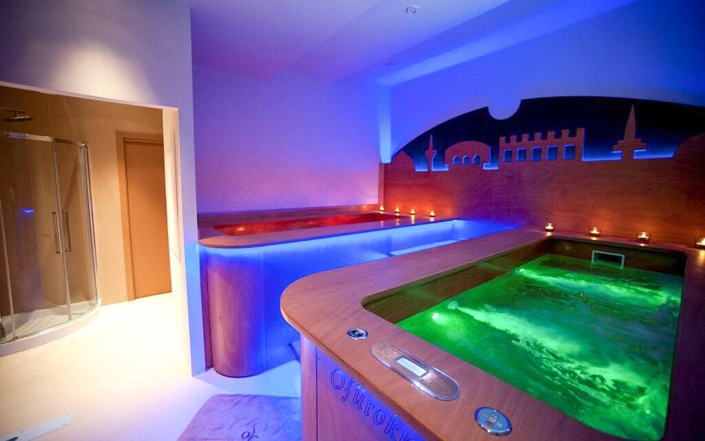 Turecká lázeň, wellness, Hotel Villa Ricci ***, Itálie