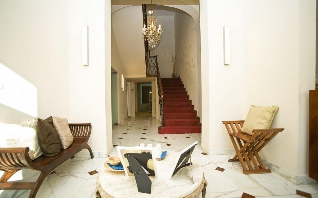 Interiéry Hotelu Villa Ricci ***, Toskánsko, Itálie