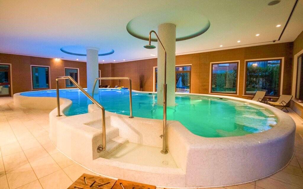 Bazén, wellness Hotelu Villa Ricci ***, Toskánsko, Itálie