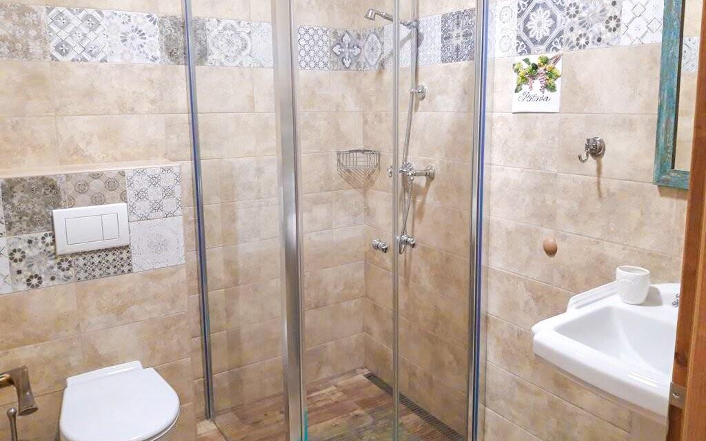 Moderná kúpeľňa, Penzión Čičina, južná Morava