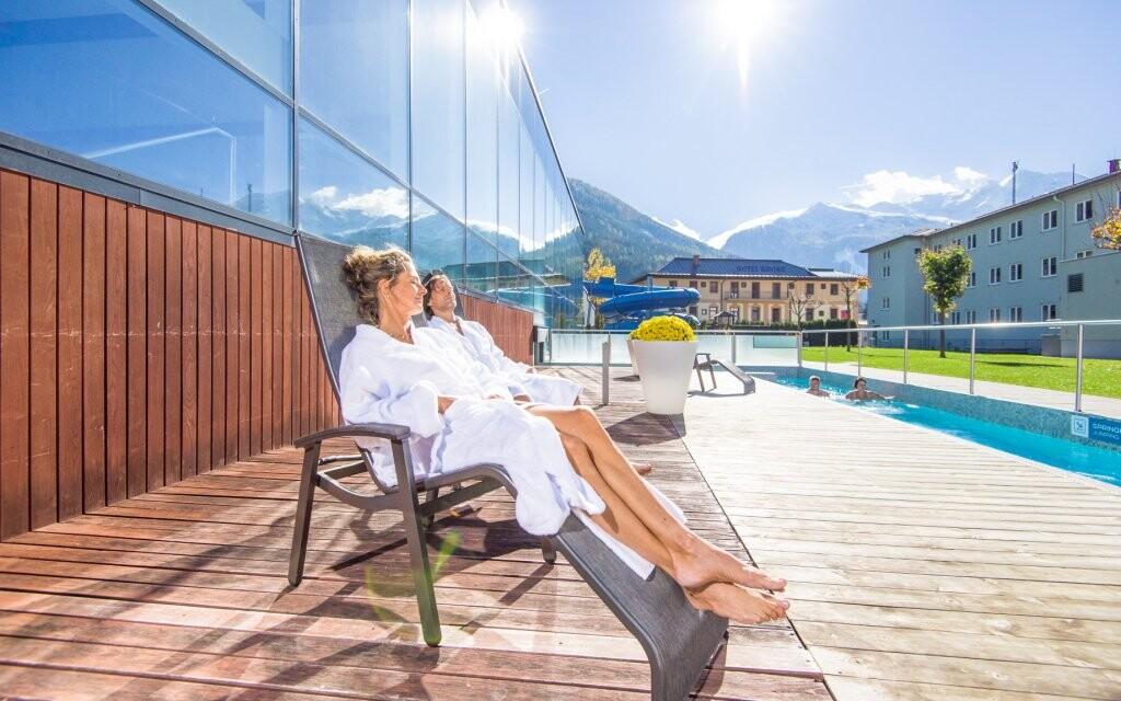 Neďaleké kúpele Felsentherme, Vysoké Taury, Rakúsko