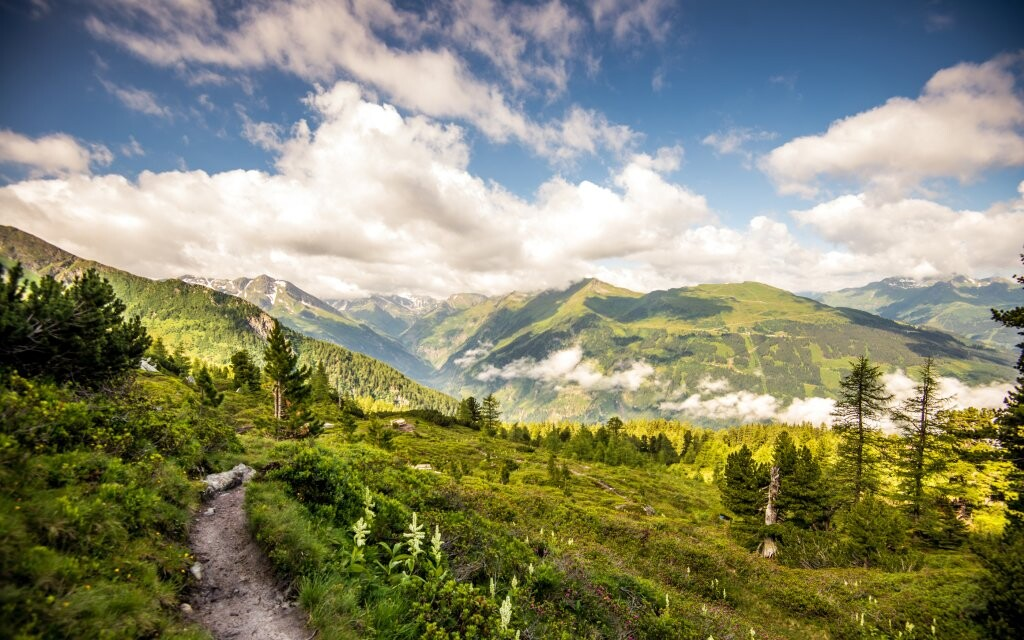 Krajina, Bad Gastein, Vysoké Taury, Rakúsko