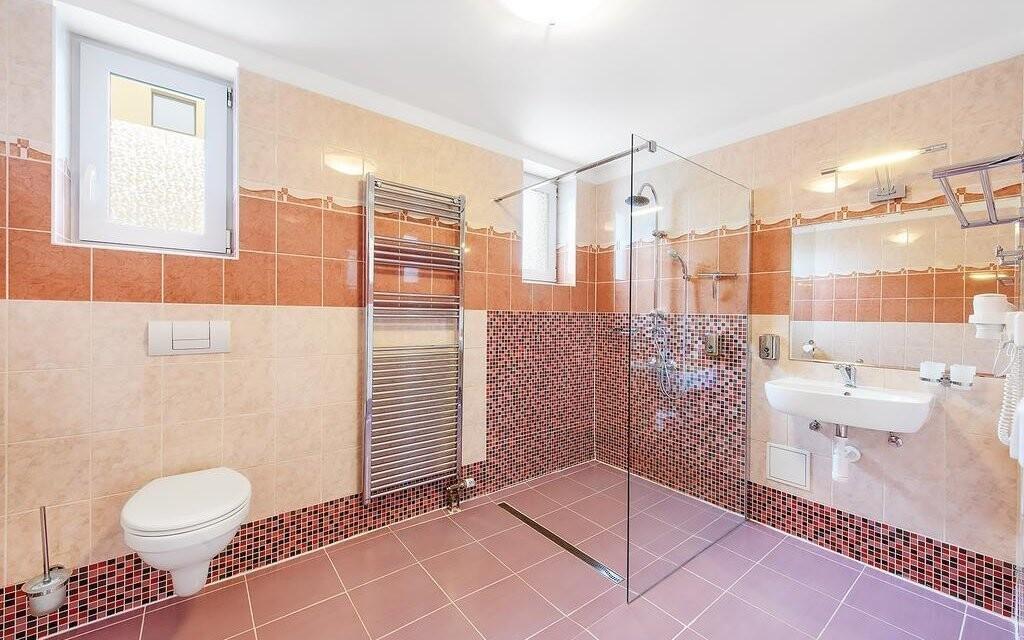 Moderná kúpeľňa, Hotel Marie-Luisa *** Praha