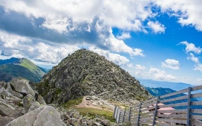 Chopok, vrchol, Nízké Tatry, Slovensko