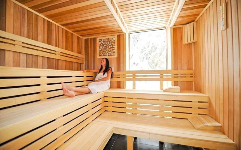 Finská sauna, Hotel Ostredok ***, Jasná, Nízké Tatry