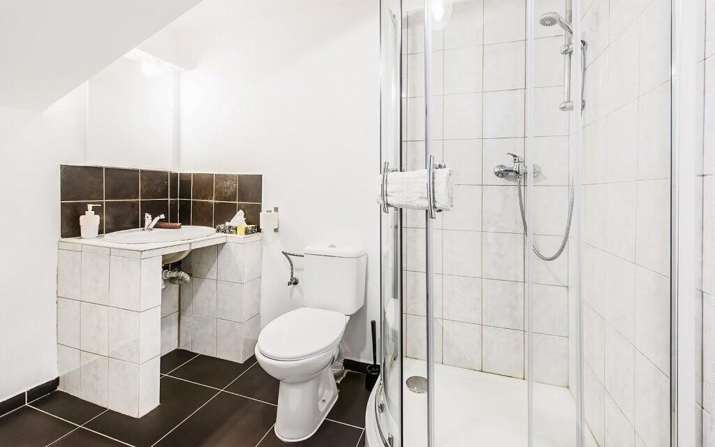 Kúpeľňa je samozrejmosťou, Hotel Beskyd, Beskydy
