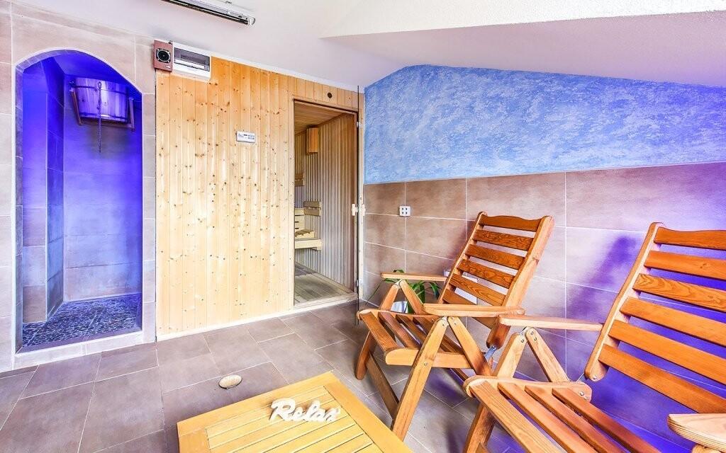 Wellness so saunou, Hotel Beskyd, Beskydy