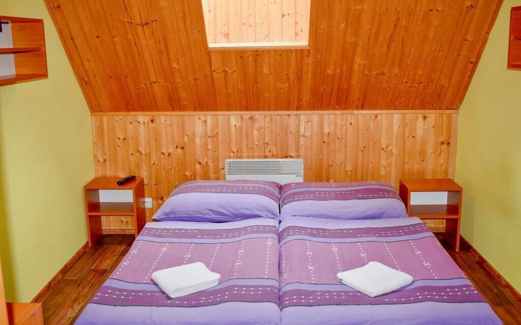 Útulné pokoje, Penzion Chata pod Sjezdovkou, Orlické hory