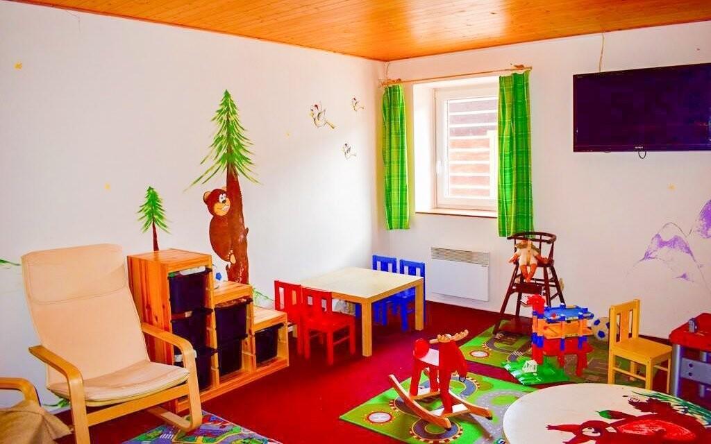Herna pro děti, Penzion Chata pod Sjezdovkou, Orlické hory