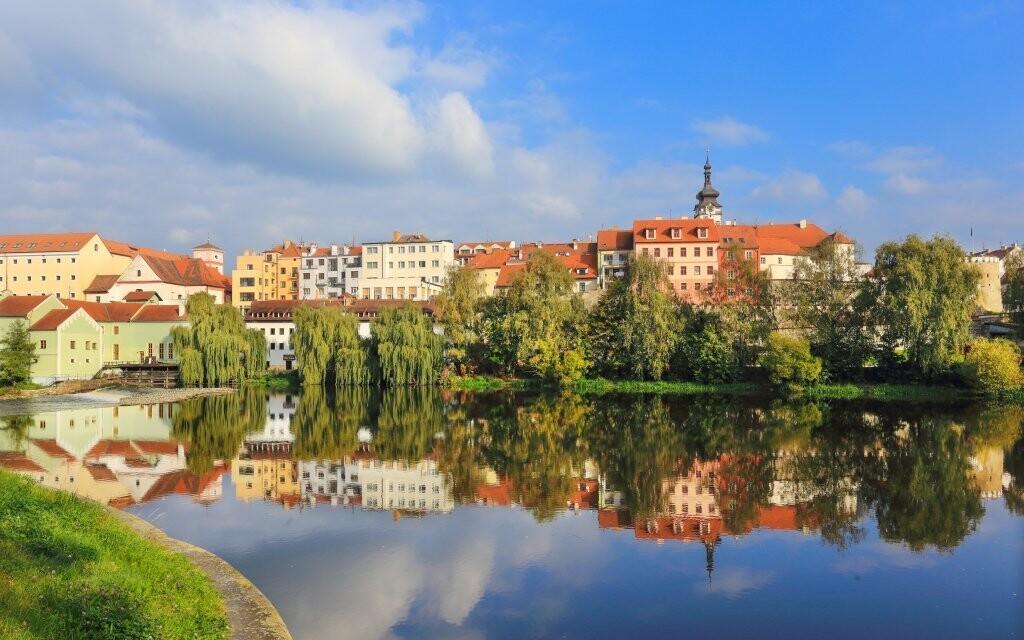Město Písek je plné historických památek