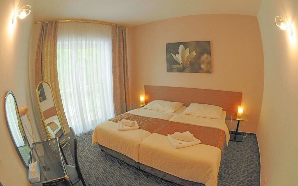 Královské postele, pokoj, Interhotel America ****, Písek