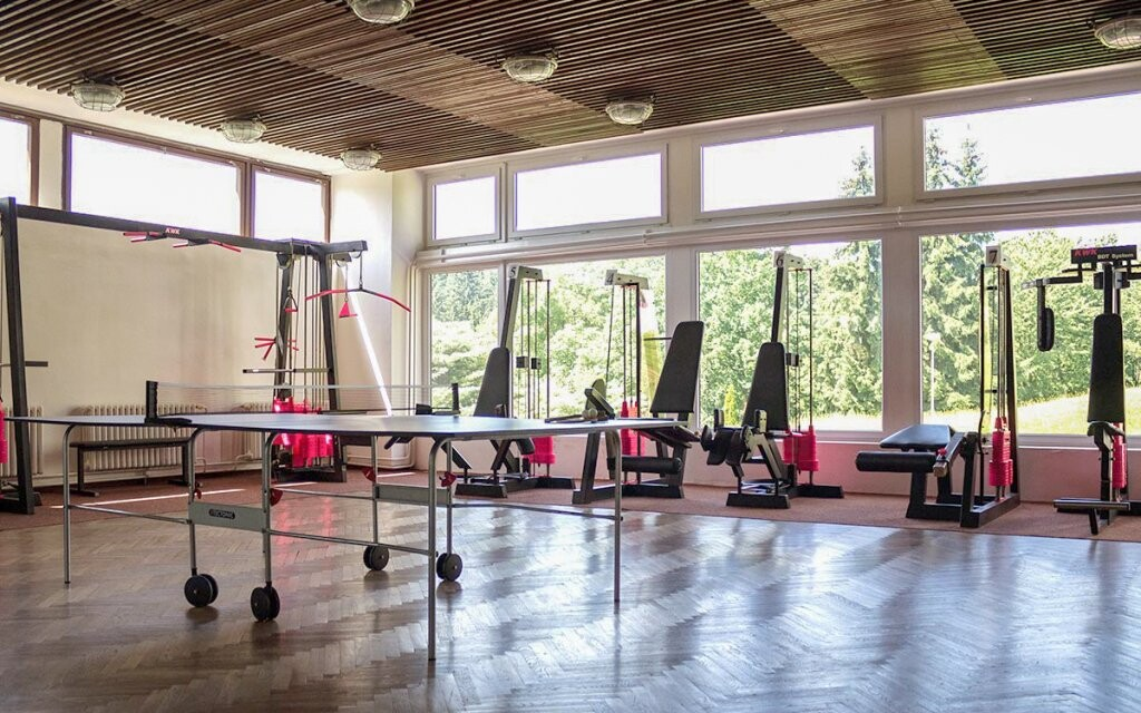 Vstup do fitness, Hotel Harmonie ***, Luhačovice