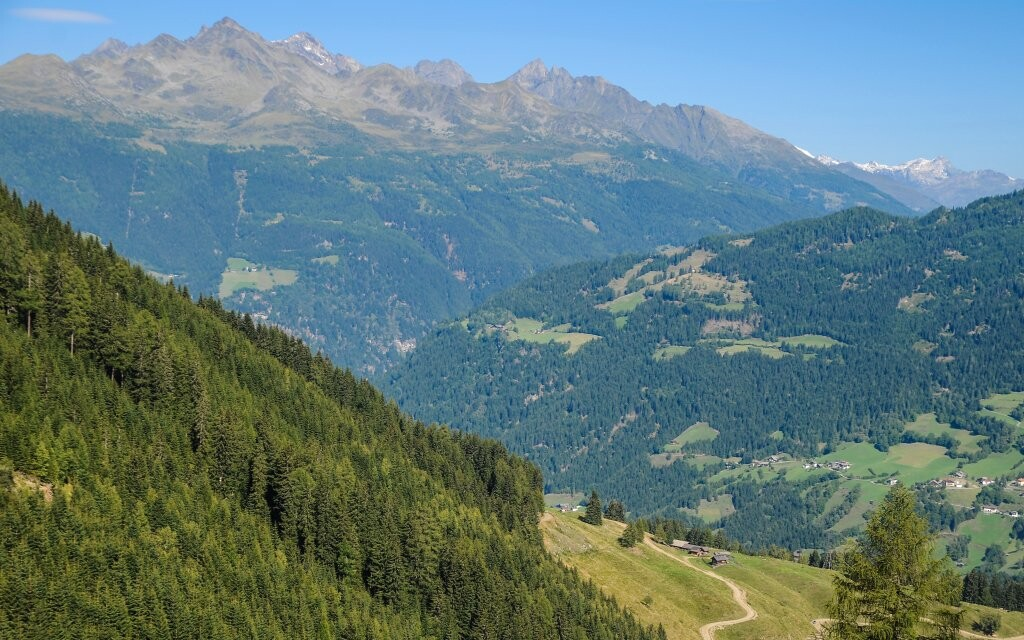 Panoráma, príroda v rakúskych Alpách