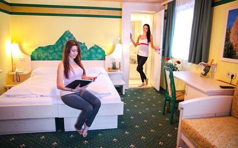 Komfortné izby, Hotel Margarethenbad ****, rakúske Alpy