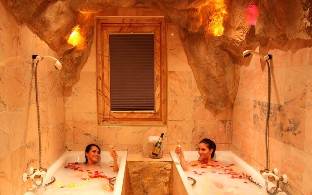 Bylinný kúpeľ, wellness v Hoteli Margarethenbad ****