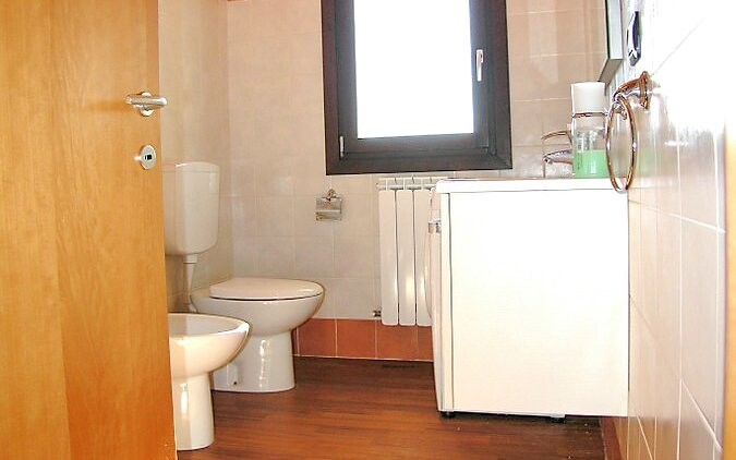 Kúpeľňa, apartmány v Residence Mairen, Taliansko
