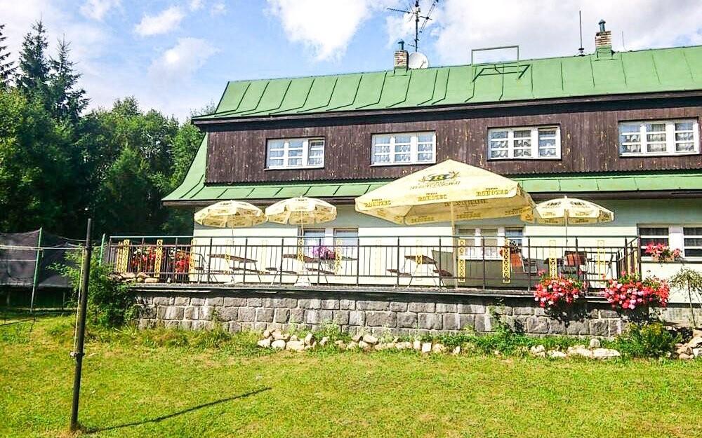 Hotel U Supa *** s letní terasou, Harrachov, Krkonoše