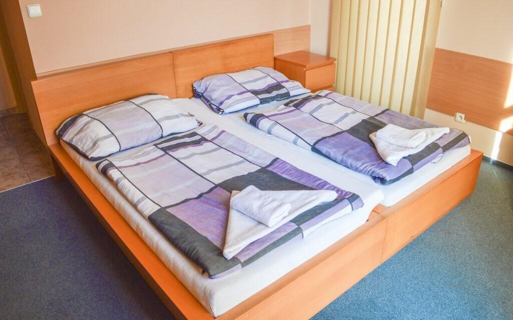 Izby sú pohodlné, Penzión Hurikán, Havlíčkův Brod