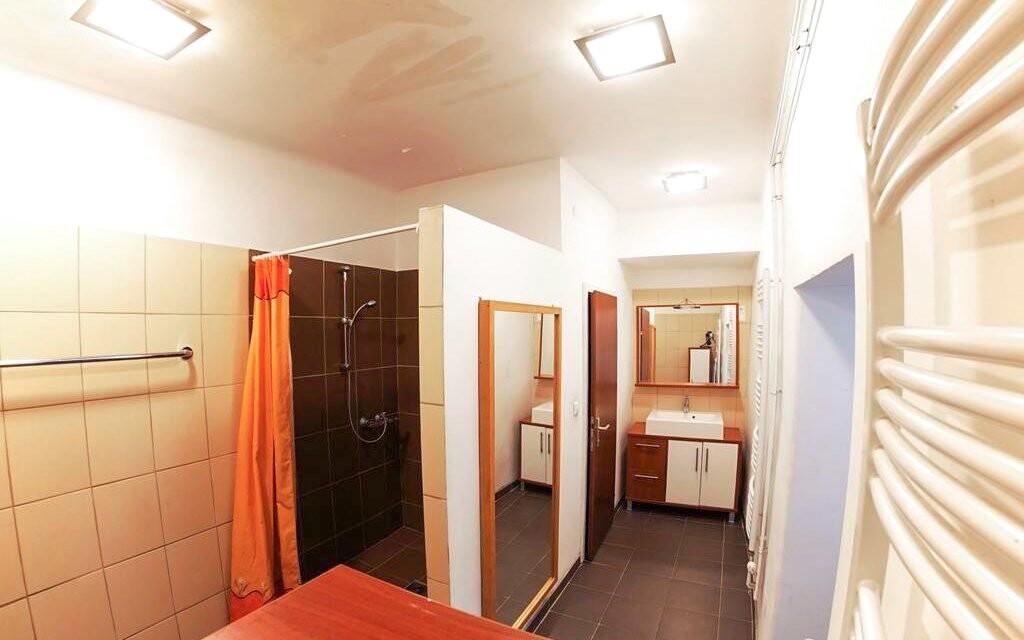 Apartmán Family, kúpeľňa, Appartement zur Brücke ***