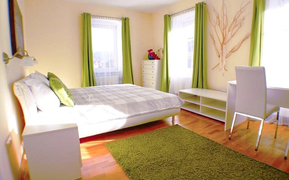 Apartmán Family, spálňa, Appartement zur Brücke ***