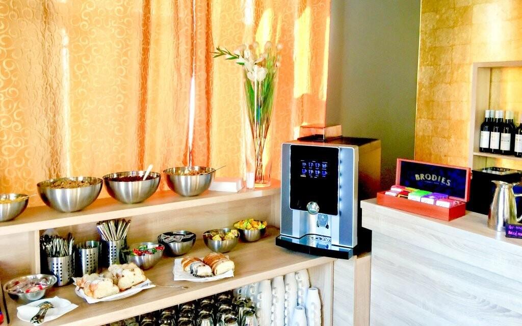Raňajky, bufet, Hotel DaVinci ****, Mariánské Lázně