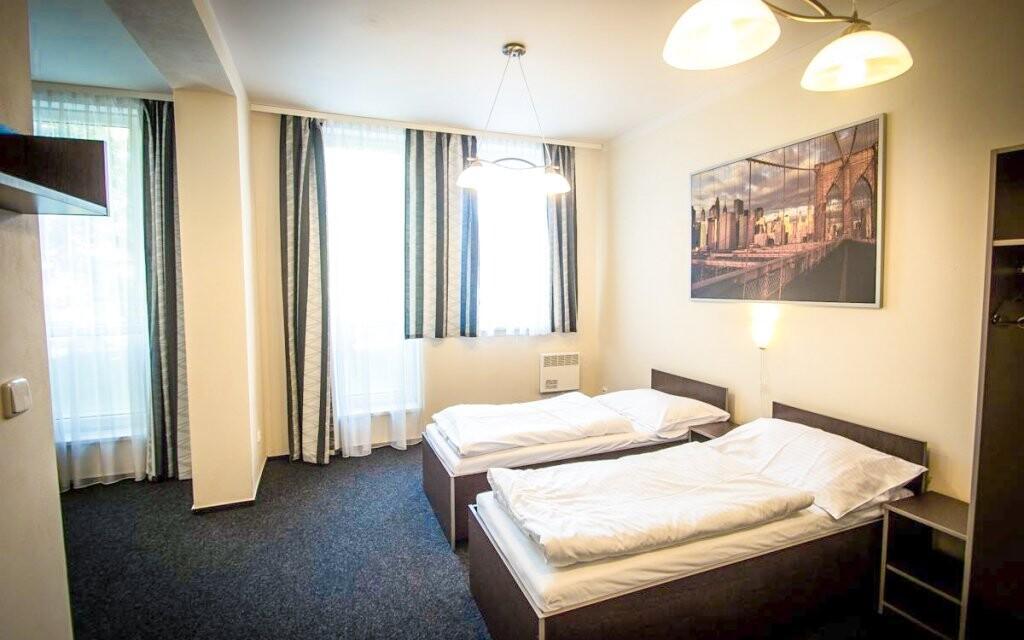 Pohodlné izby, Hotel Sázavský ostrov, Sázava