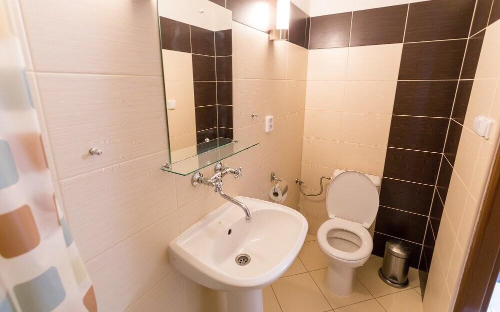 Vlastní koupelna, Penzion Retro Vrbovec, jižní Morava