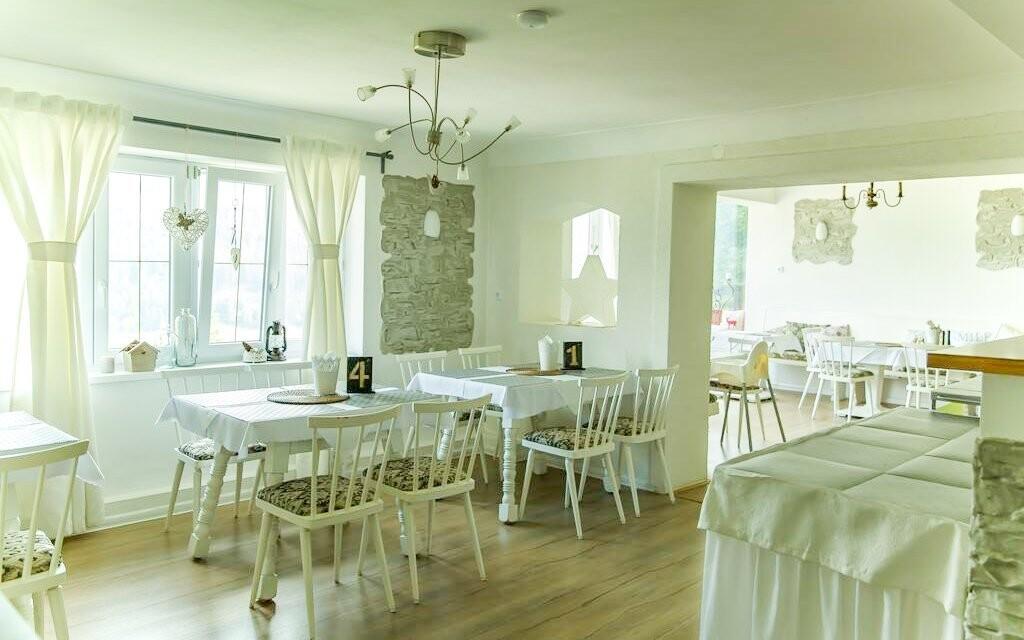 Restaurace, snídaně, Pension Bertrand, Pruggern, Rakousko