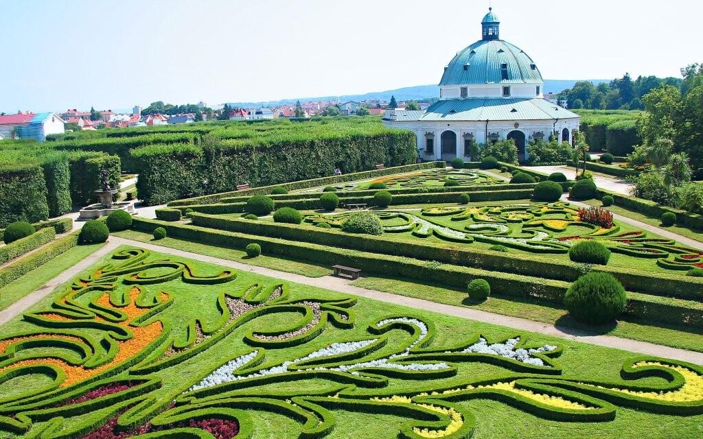 Kvetná záhrada Kroměříž, pamiatka UNESCO