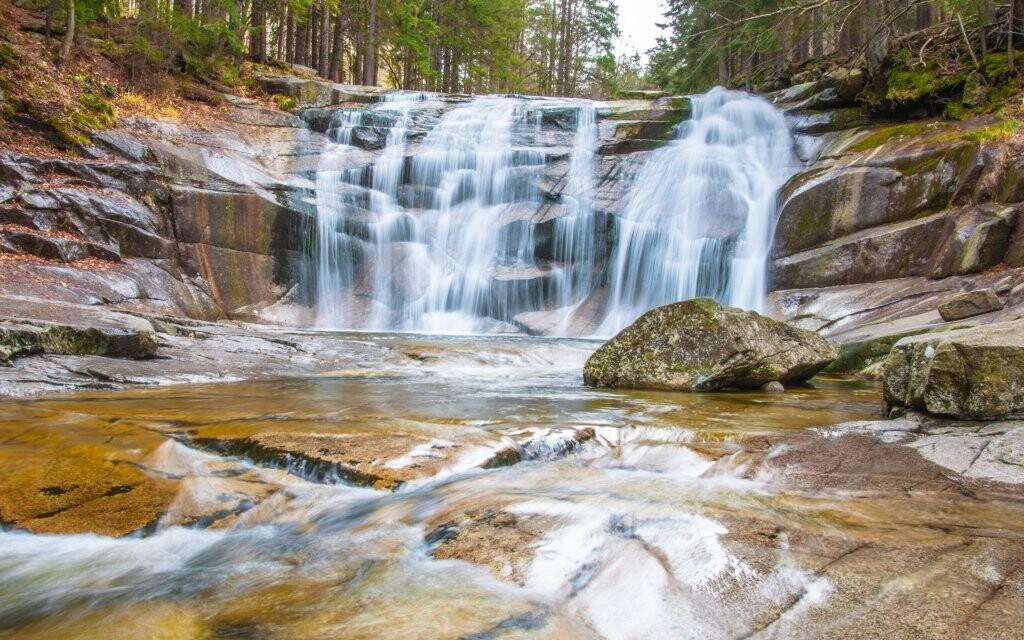 Mumlavský vodopád, Národní park Krkonoše