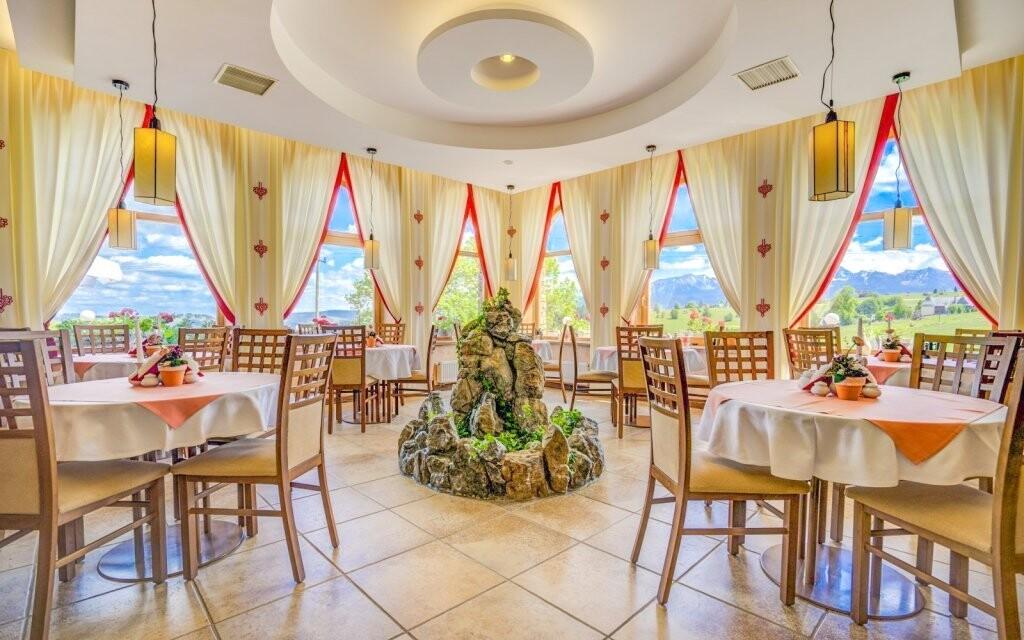 Elegantná reštaurácia v Redyk Ski & Relax *** poľské Tatry