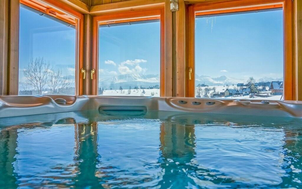 Vírivka vo wellness Redyk Ski & Relax *** poľské Tatry