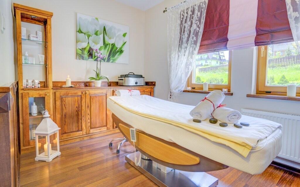 Možnosť masáží v Redyk Ski & Relax *** poľské Tatry
