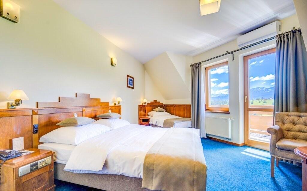 Izba s výhľadom na hory, Redyk Ski & Relax ***, poľské Tatry