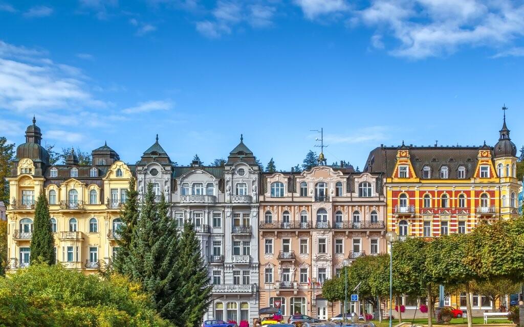 Užite si Mariánské Lázně v Hoteli Polonia