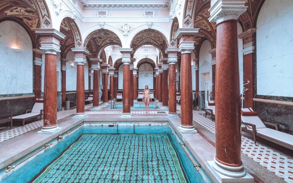 Rímske kúpele, Mariánské Lázně v Hoteli Polonia
