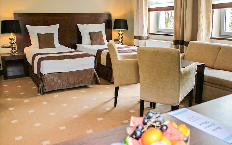 Prostorné pokoje, Hotel Spa Medical Dwór Elizy