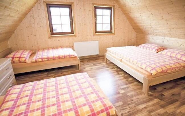 V pokojích se budete cítit pohodlně