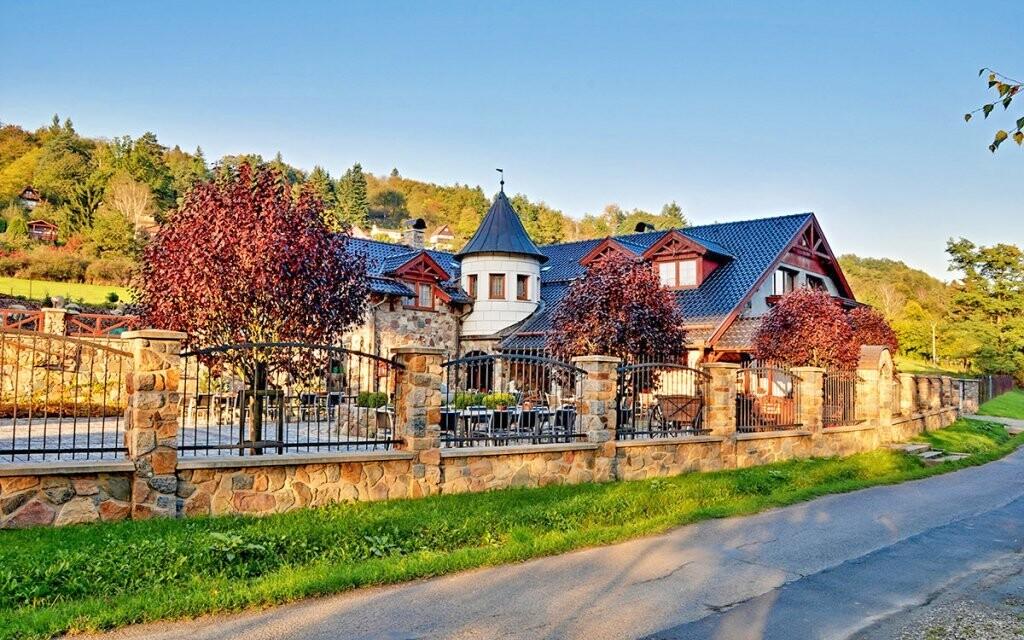 Užijte si romantický pobyt v Zámečku Kaliště