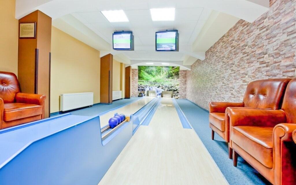 Bowlingová dráha, Hotel Klimek **** SPA, Poľsko