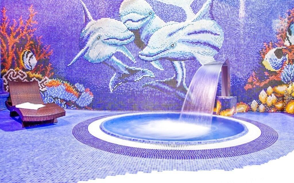 Vírivka, aquapark v Hoteli Klimek **** SPA Poľsko