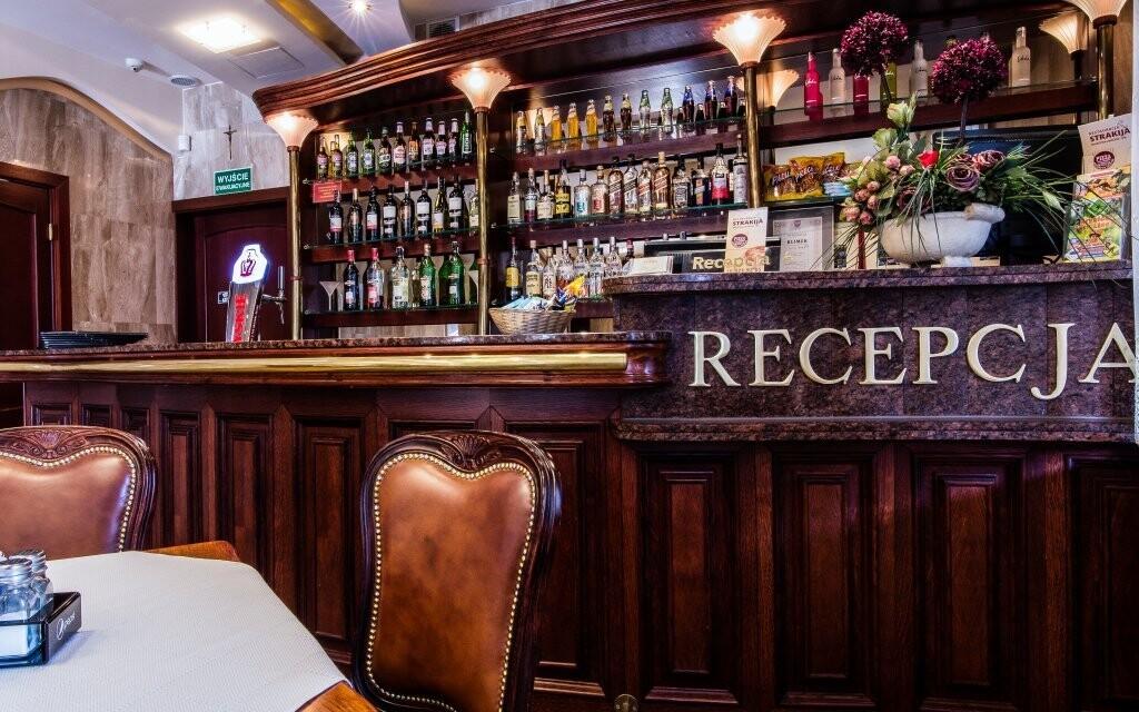 Recepcia a bar v Penzióne Klimek ****, Poľsko
