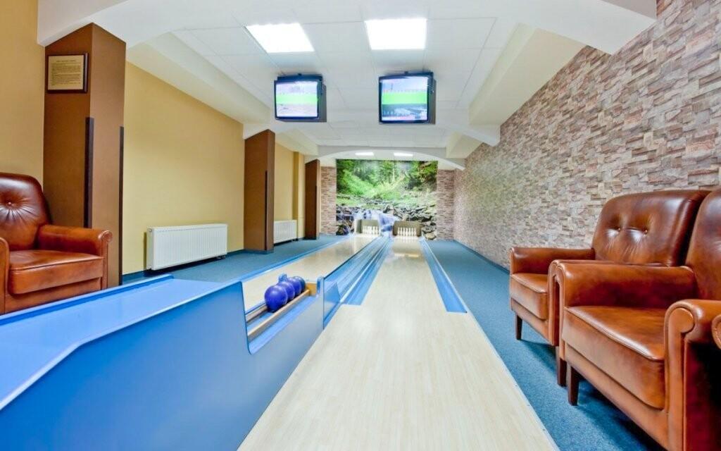 Bowling v Hoteli Klimek **** SPA, Poľsko