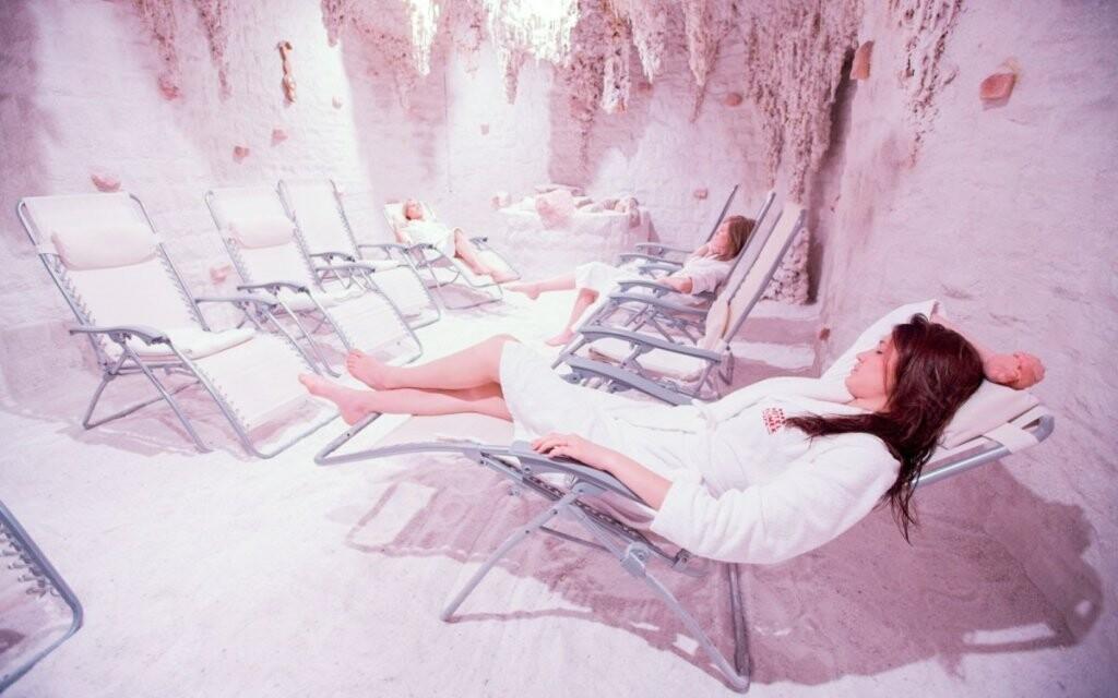 Soľná jaskyňa, wellness v Hoteli Klimek **** SPA, Poľsko