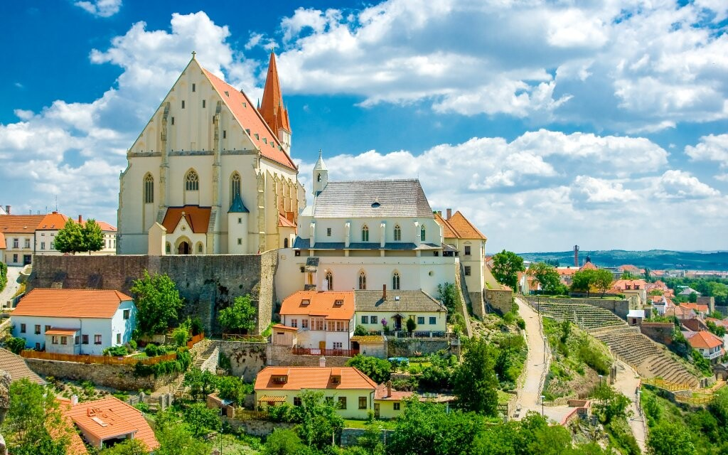 Prohlídka Znojma, historické památky, jižní Morava