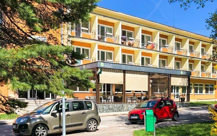 Užite si pohodu v Hoteli Rezident ***, Turčianske Teplice