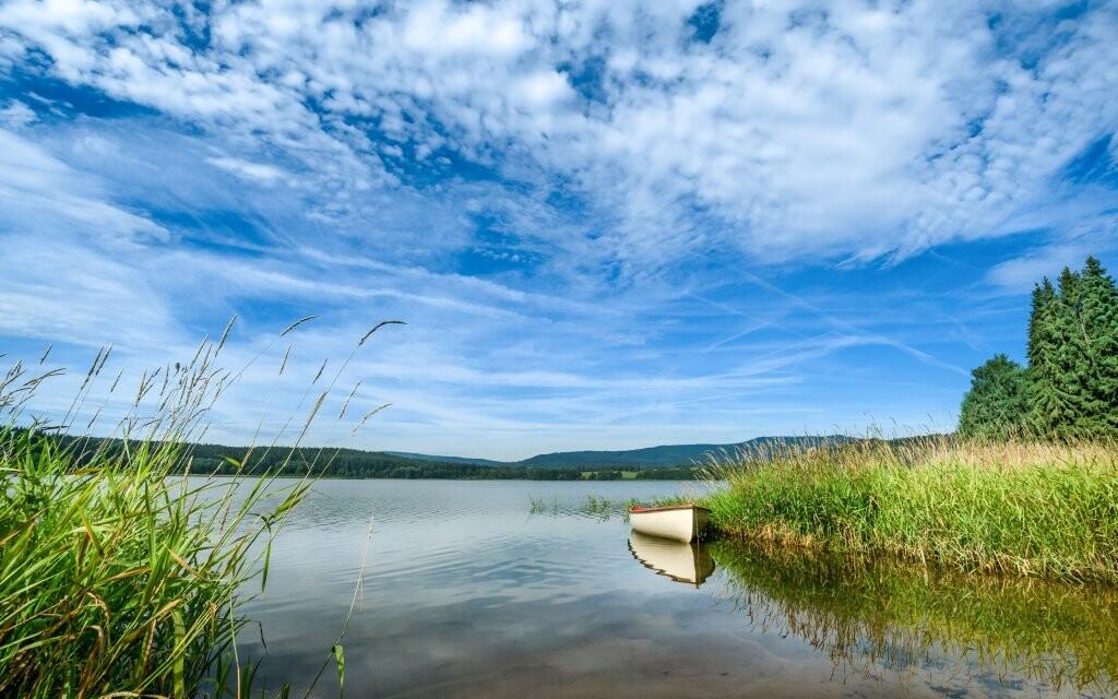 Přehrada Lipno, Černá v Pošumaví, Jižní Čechy