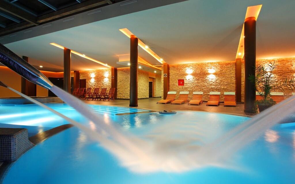 Luxusné wellness centrum v Anna Grand Hoteli ****